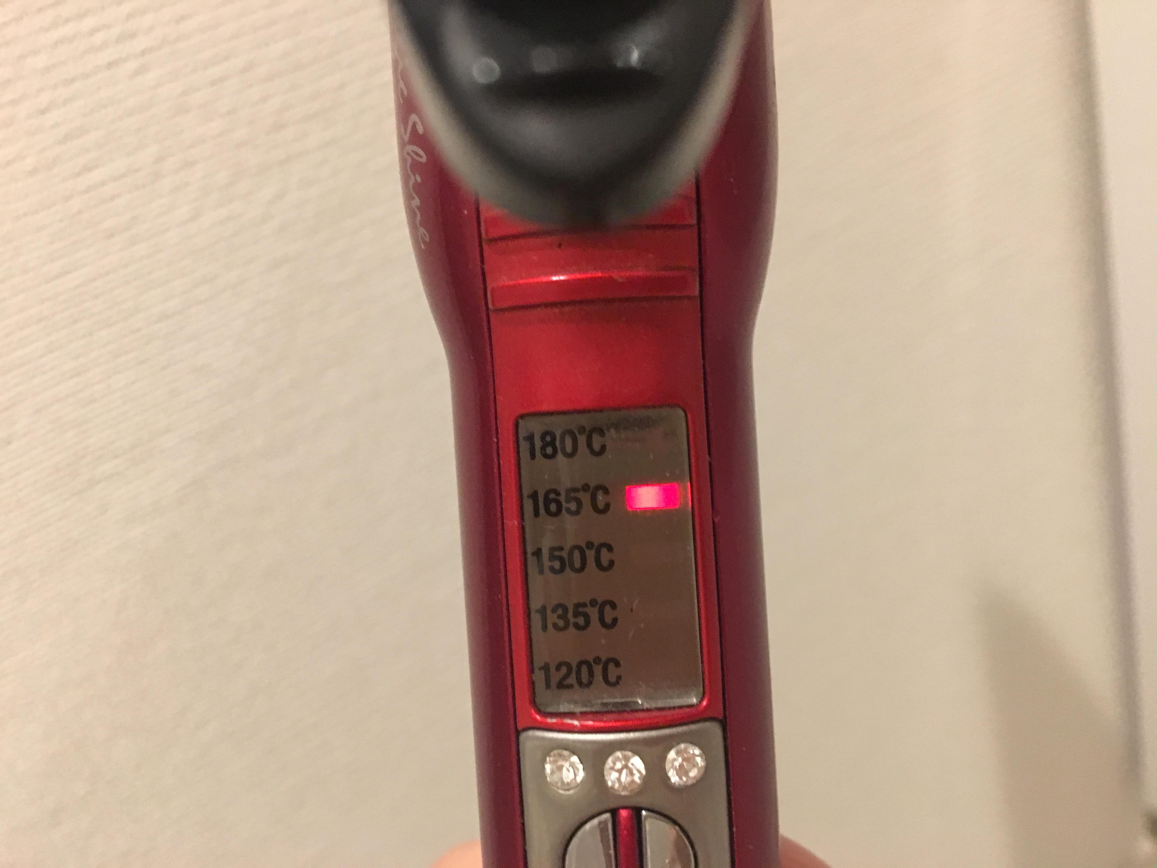 コテの温度