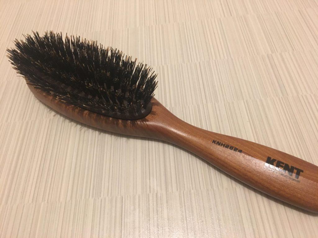KENT社のヘアブラシ
